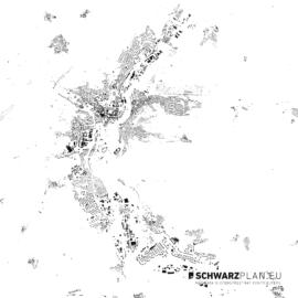 Schwarzplan von Jena
