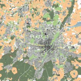 Lageplan von München