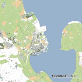 Lageplan von Bremerhaven