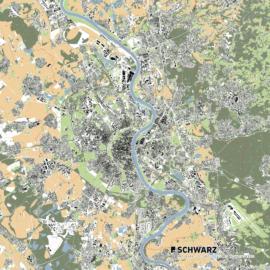 Lageplan von Köln