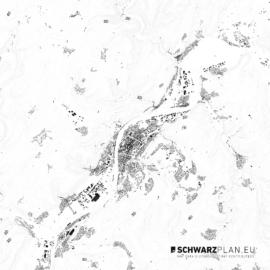Schwarzplan von Trier