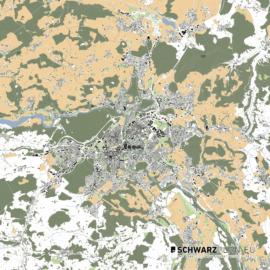 Lageplan von Bern