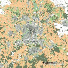 Lageplan von Münster