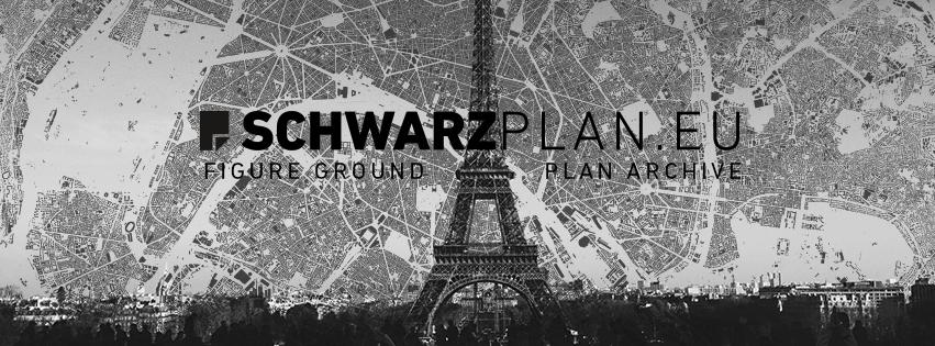 Figure ground plan Paris