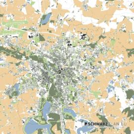 Lageplan von Leipzig