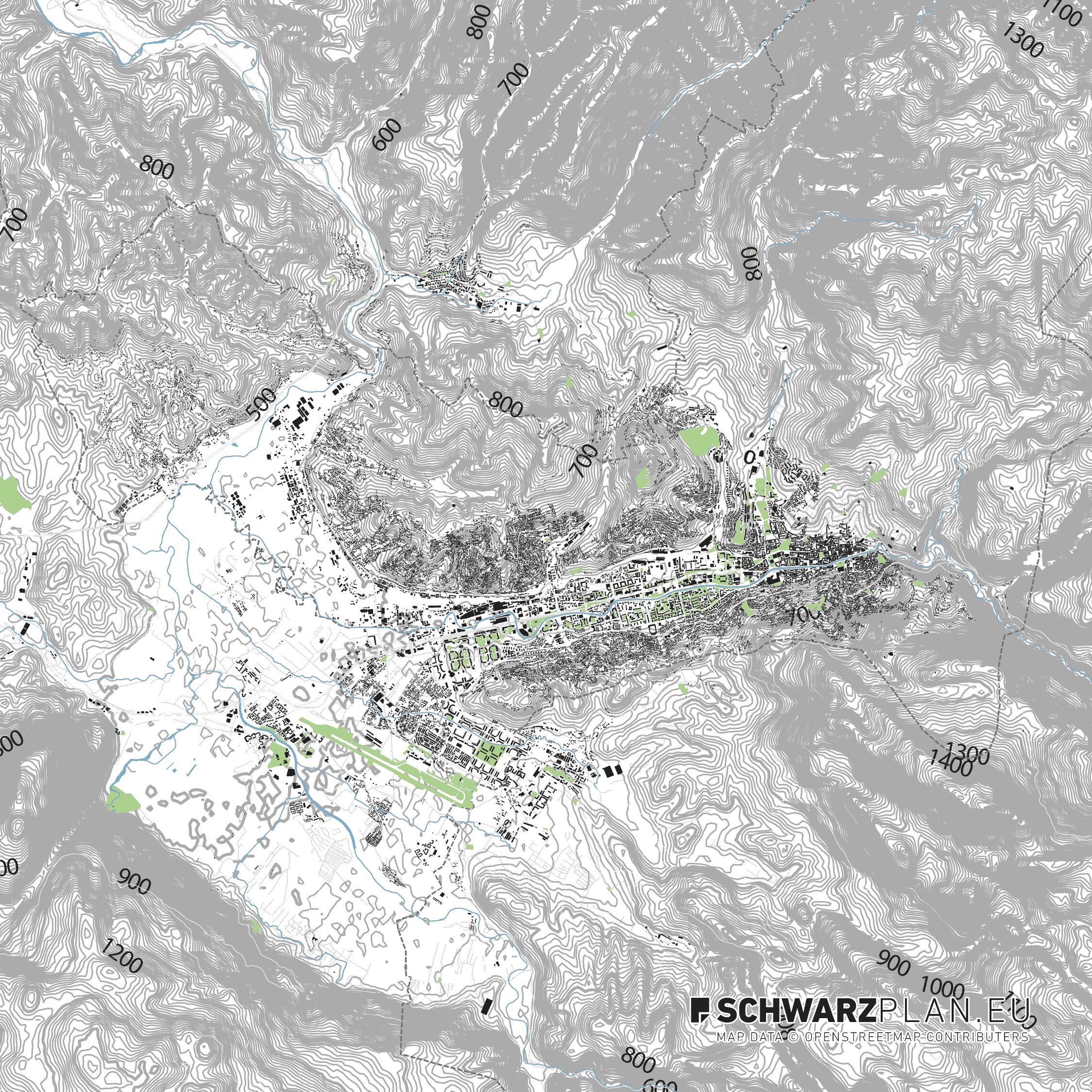 Site Plan of Sarajevo