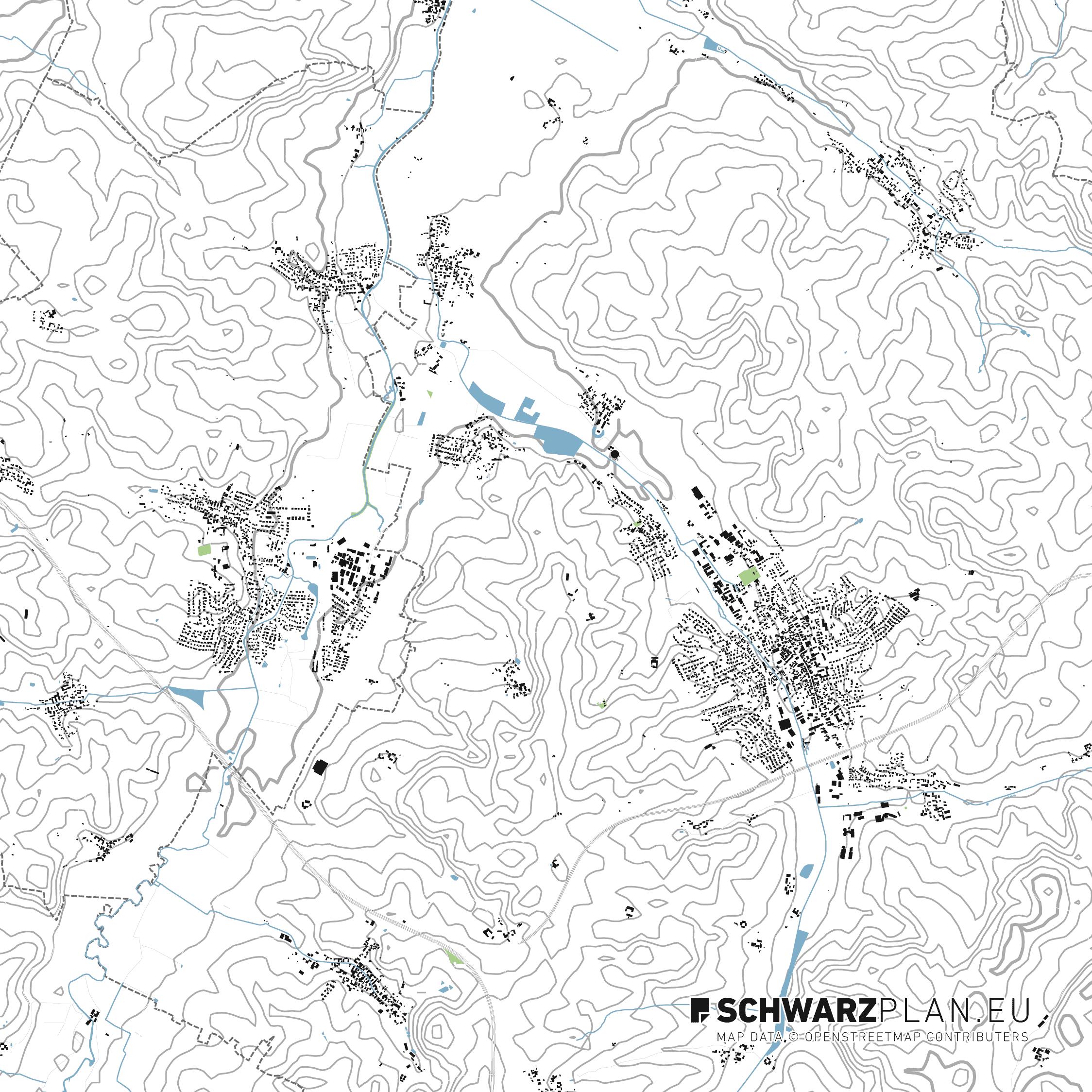 Lageplan von Wolnzach