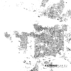 Figure ground plan of Vancouver