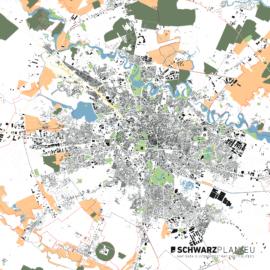 Lageplan von Bukarest