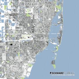 Lageplan von Miami
