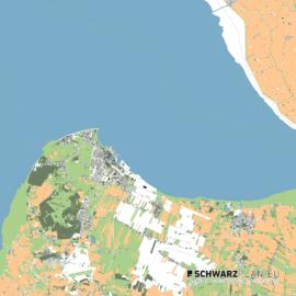 Lageplan von Cuxhaven