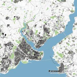 Lageplan von Istanbul