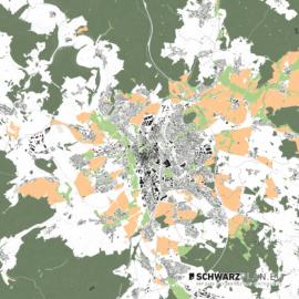Lageplan von Fulda